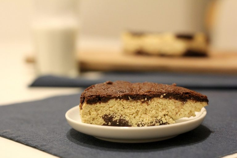 tvarohovy struhany kolac, koláč, zdravá sladkosť