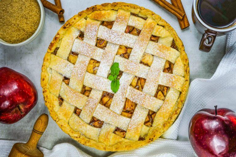 koláč z čerstvých jabĺk