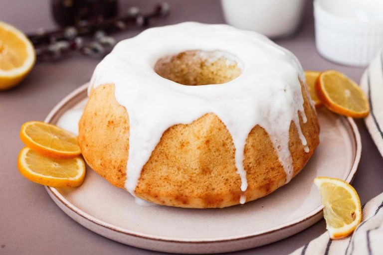 citrónová bábovka