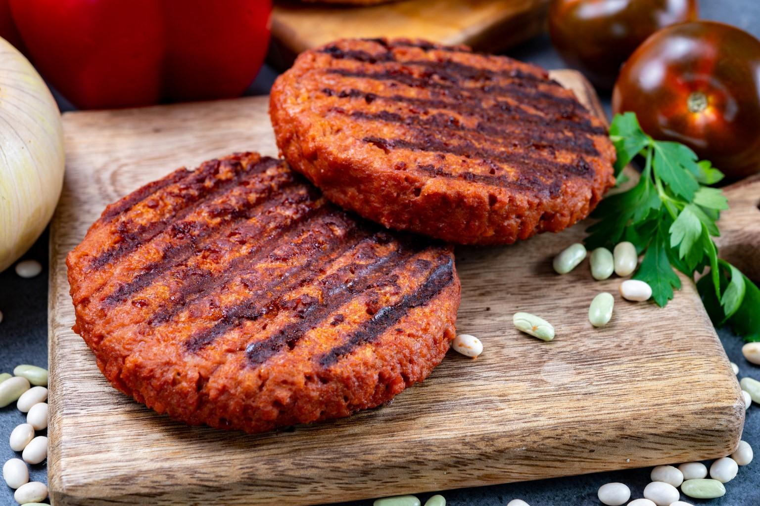 rastlinný burger