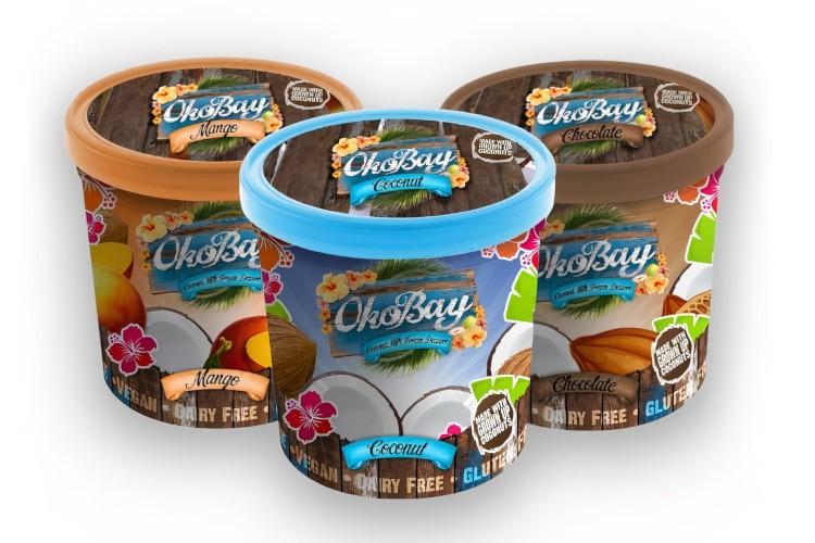 Zmrzliny OkoBay: Coconut, Mango, Chocolate