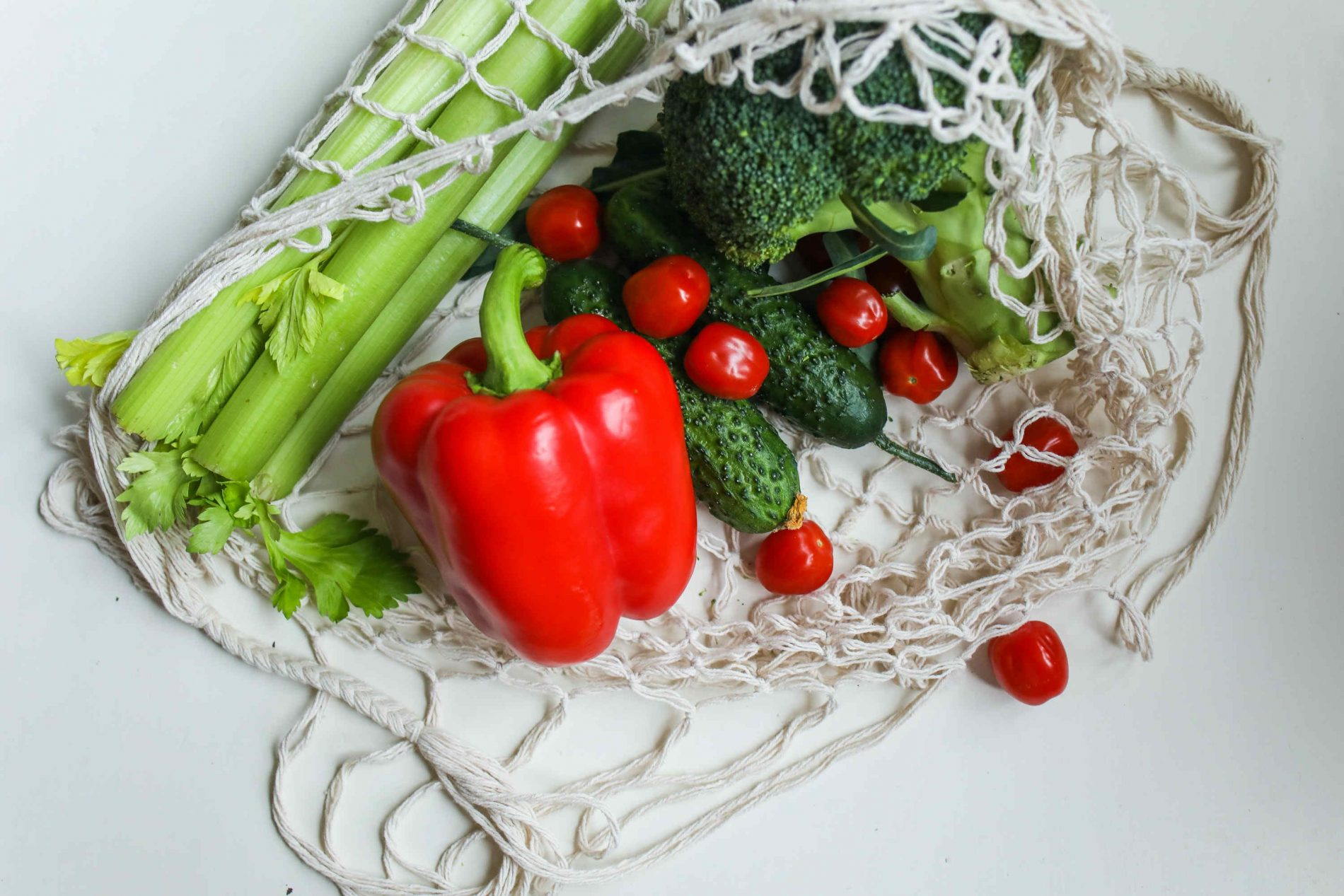 Zelenina v sietke